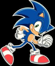 На автомобиль Наклейка «Sonic»Компьютерные игры<br><br>