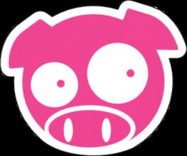На автомобиль Наклейка «Subaru Pig Wonder»Subaru Pig<br><br>