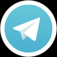 На автомобиль Наклейка «Telegram»Декор<br><br>