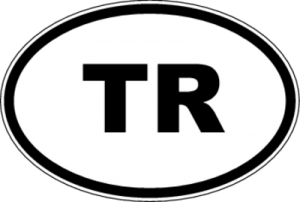На автомобиль Наклейка «TR - Турция»Автомобильные<br><br>