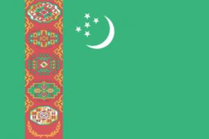 На автомобиль Наклейка «Туркменистан»Страны и путешествия<br><br>