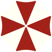 На автомобиль Наклейка «Umbrella Corporation»Компьютерные игры<br><br>