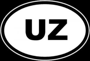 На автомобиль Наклейка «UZ - Узбекистан»Автомобильные<br><br>