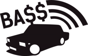 На автомобиль Наклейка «ВАЗ BASS»LADA<br><br>