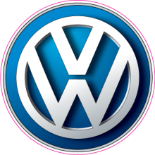 На автомобиль Наклейка «Volkswagen Фольксваген Цветная»Volkswagen<br><br>