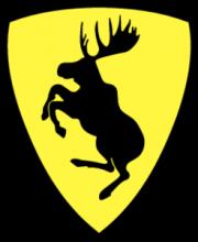 На автомобиль Наклейка «Volvo moose»Volvo<br><br>