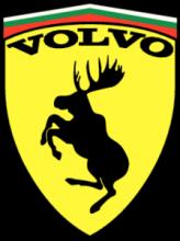 На автомобиль Наклейка «Volvo moose BG»Volvo<br><br>
