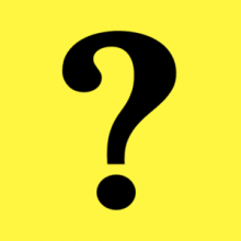 На автомобиль Наклейка «Знак вопроса»Начинающий водитель<br><br>