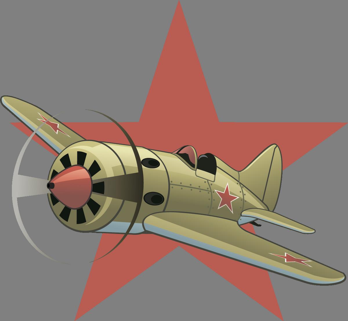 На автомобиль Наклейка «Звезда И-16»Ко Дню Победы<br><br>