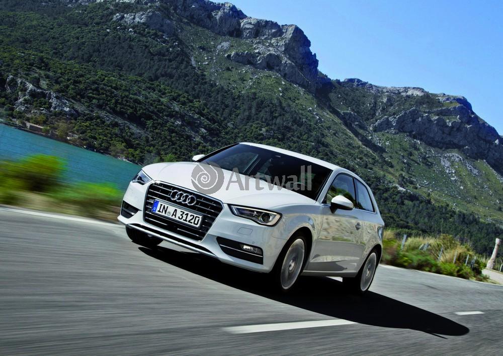 Постер Audi A3, 28x20 см, на бумагеA3<br>Постер на холсте или бумаге. Любого нужного вам размера. В раме или без. Подвес в комплекте. Трехслойная надежная упаковка. Доставим в любую точку России. Вам осталось только повесить картину на стену!<br>