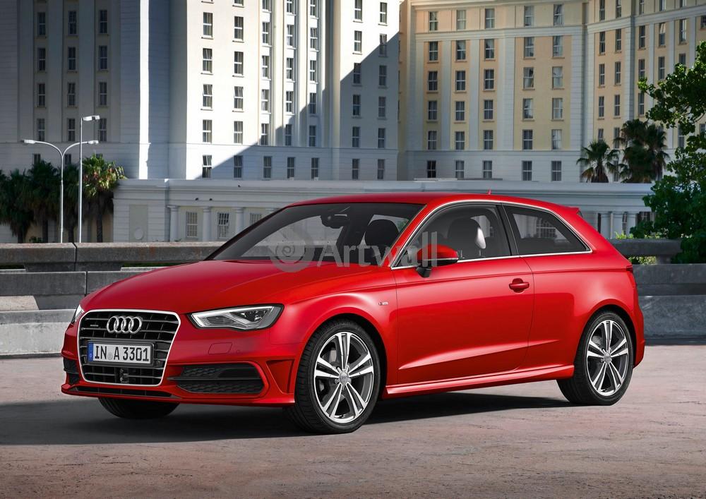 Audi A3, 28x20 см, на бумагеA3<br>Постер на холсте или бумаге. Любого нужного вам размера. В раме или без. Подвес в комплекте. Трехслойная надежная упаковка. Доставим в любую точку России. Вам осталось только повесить картину на стену!<br>