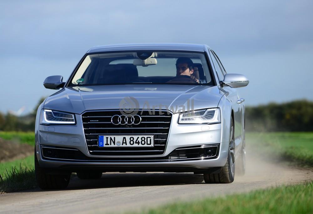 Постер Audi A8, 29x20 см, на бумагеA8<br>Постер на холсте или бумаге. Любого нужного вам размера. В раме или без. Подвес в комплекте. Трехслойная надежная упаковка. Доставим в любую точку России. Вам осталось только повесить картину на стену!<br>