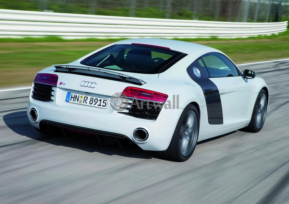 Audi R8, 28x20 см, на бумагеR8<br>Постер на холсте или бумаге. Любого нужного вам размера. В раме или без. Подвес в комплекте. Трехслойная надежная упаковка. Доставим в любую точку России. Вам осталось только повесить картину на стену!<br>