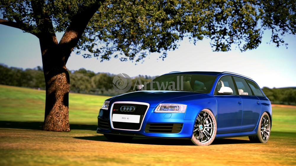 Audi RS6 Avant, 36x20 см, на бумагеRS6 Avant<br>Постер на холсте или бумаге. Любого нужного вам размера. В раме или без. Подвес в комплекте. Трехслойная надежная упаковка. Доставим в любую точку России. Вам осталось только повесить картину на стену!<br>