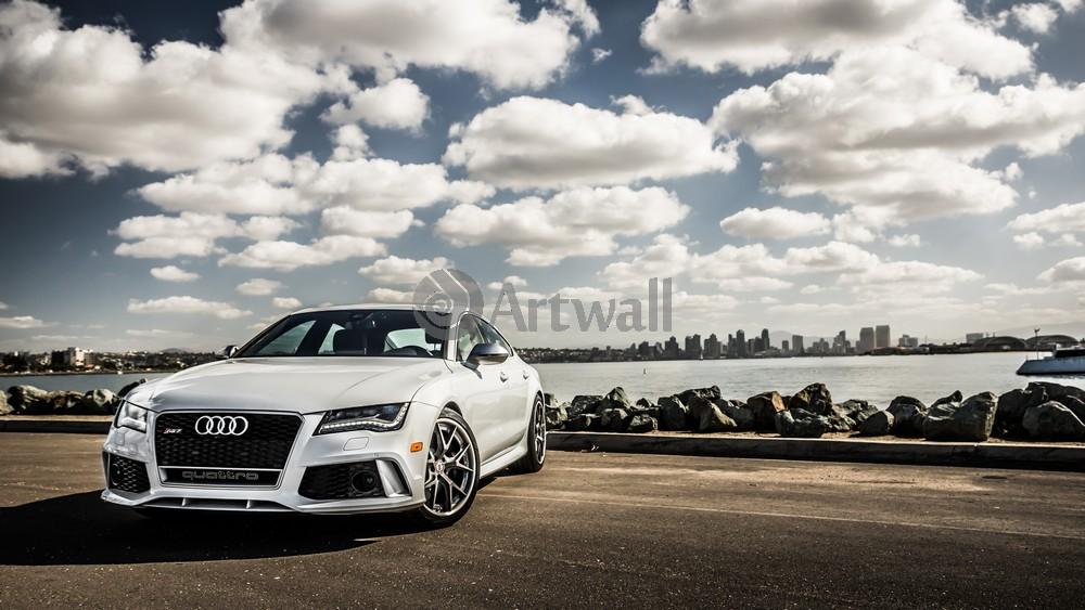 Постер Audi RS7, 36x20 см, на бумагеRS7<br>Постер на холсте или бумаге. Любого нужного вам размера. В раме или без. Подвес в комплекте. Трехслойная надежная упаковка. Доставим в любую точку России. Вам осталось только повесить картину на стену!<br>