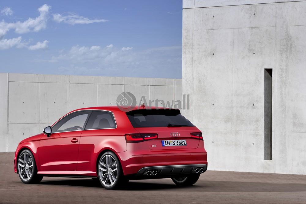 Постер Audi S3, 30x20 см, на бумагеS3<br>Постер на холсте или бумаге. Любого нужного вам размера. В раме или без. Подвес в комплекте. Трехслойная надежная упаковка. Доставим в любую точку России. Вам осталось только повесить картину на стену!<br>