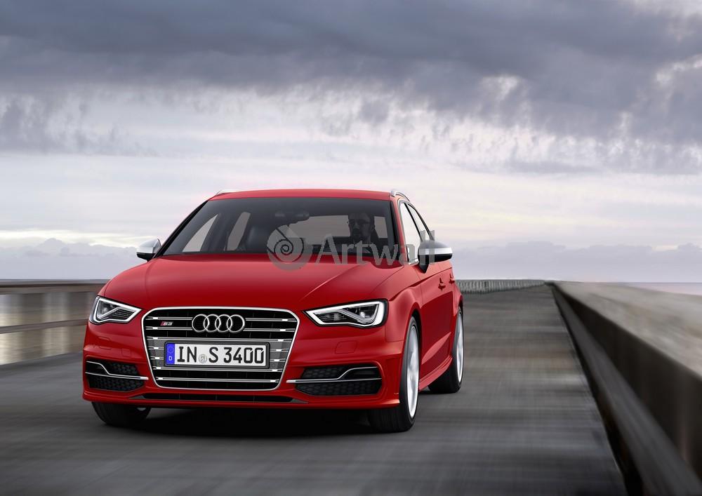 Постер Audi S3 Sportback, 28x20 см, на бумагеS3 Sportback<br>Постер на холсте или бумаге. Любого нужного вам размера. В раме или без. Подвес в комплекте. Трехслойная надежная упаковка. Доставим в любую точку России. Вам осталось только повесить картину на стену!<br>