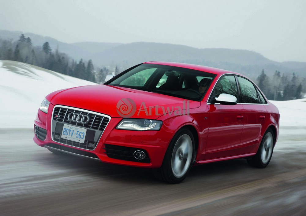 Постер Audi S4, 28x20 см, на бумагеS4<br>Постер на холсте или бумаге. Любого нужного вам размера. В раме или без. Подвес в комплекте. Трехслойная надежная упаковка. Доставим в любую точку России. Вам осталось только повесить картину на стену!<br>
