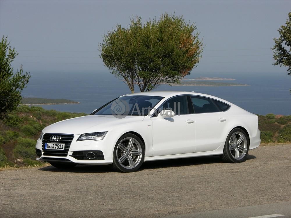 Постер Audi S7, 27x20 см, на бумагеS7<br>Постер на холсте или бумаге. Любого нужного вам размера. В раме или без. Подвес в комплекте. Трехслойная надежная упаковка. Доставим в любую точку России. Вам осталось только повесить картину на стену!<br>