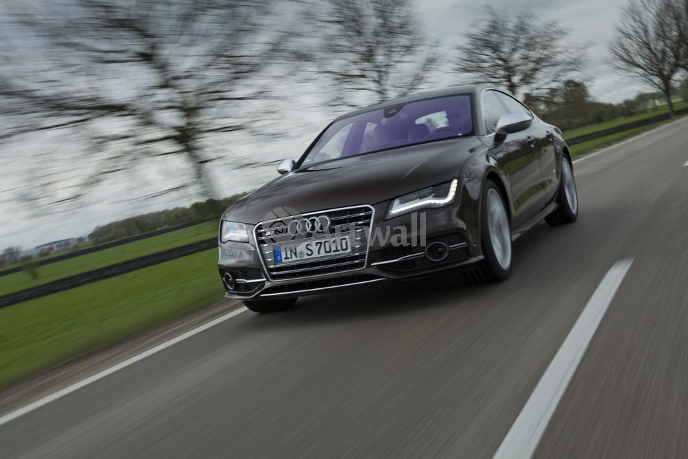 Постер Audi S7, 30x20 см, на бумагеS7<br>Постер на холсте или бумаге. Любого нужного вам размера. В раме или без. Подвес в комплекте. Трехслойная надежная упаковка. Доставим в любую точку России. Вам осталось только повесить картину на стену!<br>