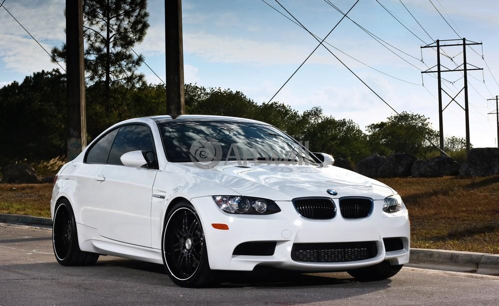 Постер BMW M3, 33x20 см, на бумагеM3<br>Постер на холсте или бумаге. Любого нужного вам размера. В раме или без. Подвес в комплекте. Трехслойная надежная упаковка. Доставим в любую точку России. Вам осталось только повесить картину на стену!<br>