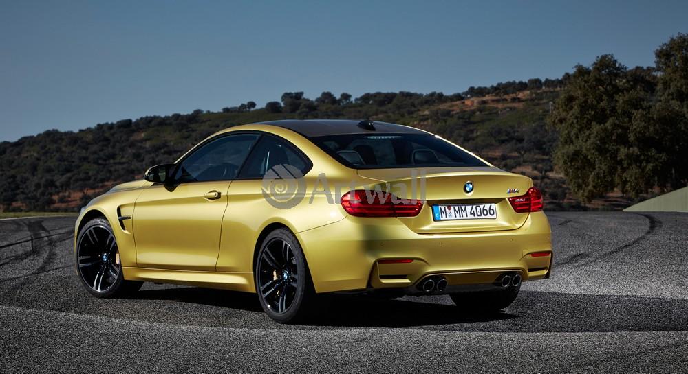 Постер BMW M4, 37x20 см, на бумагеM4<br>Постер на холсте или бумаге. Любого нужного вам размера. В раме или без. Подвес в комплекте. Трехслойная надежная упаковка. Доставим в любую точку России. Вам осталось только повесить картину на стену!<br>