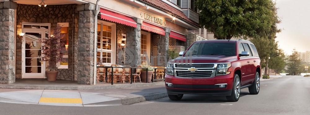 Постер Chevrolet Tahoe, 54x20 см, на бумагеTahoe<br>Постер на холсте или бумаге. Любого нужного вам размера. В раме или без. Подвес в комплекте. Трехслойная надежная упаковка. Доставим в любую точку России. Вам осталось только повесить картину на стену!<br>
