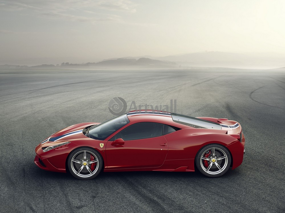 Постер Ferrari 458, 27x20 см, на бумаге458<br>Постер на холсте или бумаге. Любого нужного вам размера. В раме или без. Подвес в комплекте. Трехслойная надежная упаковка. Доставим в любую точку России. Вам осталось только повесить картину на стену!<br>