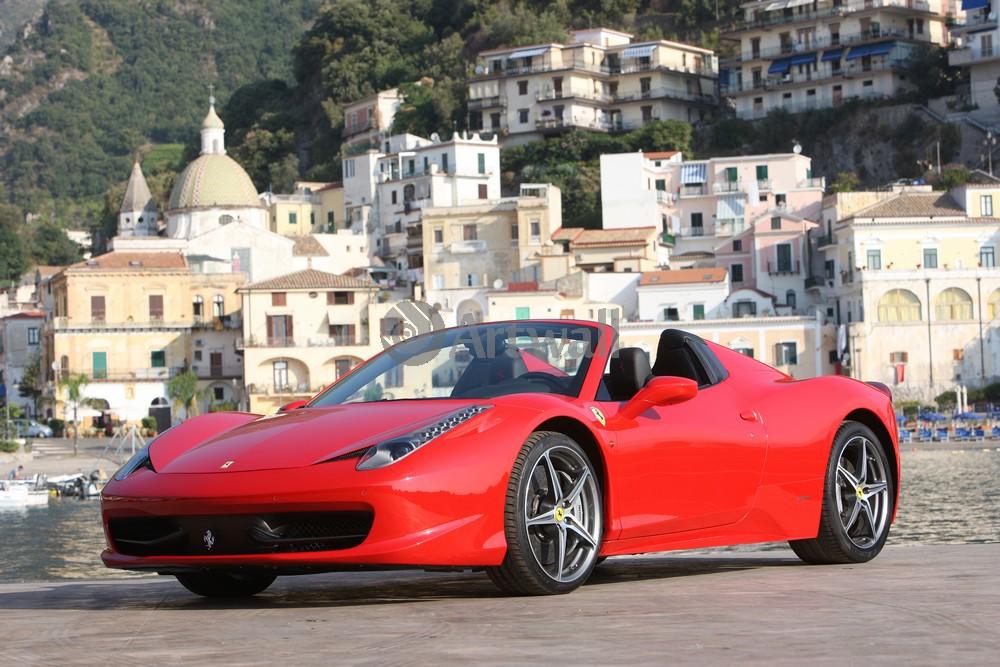 Постер Ferrari 458 Spider, 30x20 см, на бумаге458 Spider<br>Постер на холсте или бумаге. Любого нужного вам размера. В раме или без. Подвес в комплекте. Трехслойная надежная упаковка. Доставим в любую точку России. Вам осталось только повесить картину на стену!<br>