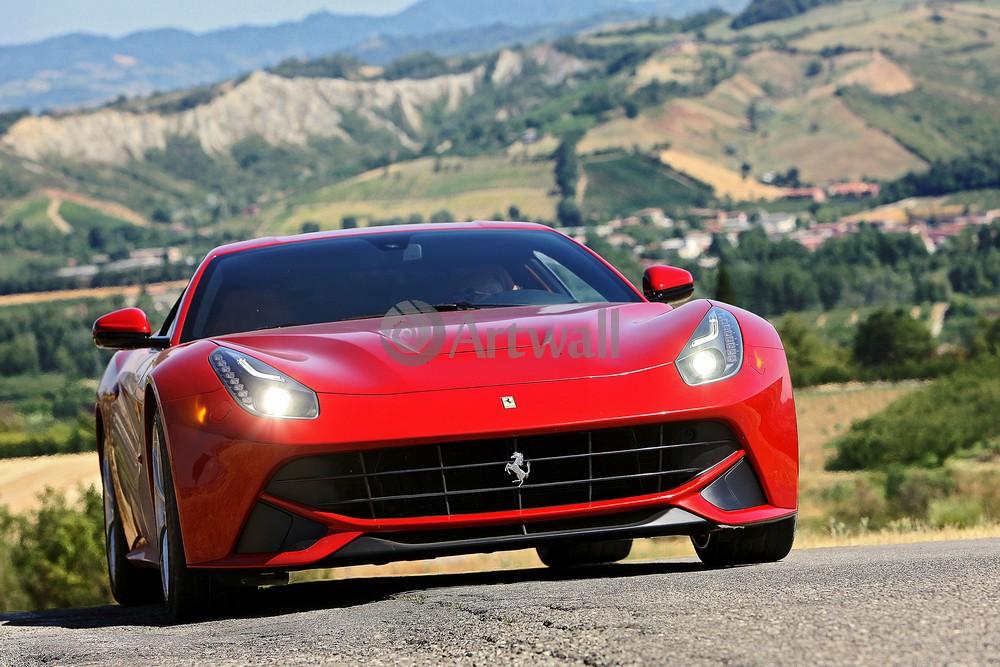 Постер Ferrari F12 Berlinetta, 30x20 см, на бумагеF12 Berlinetta<br>Постер на холсте или бумаге. Любого нужного вам размера. В раме или без. Подвес в комплекте. Трехслойная надежная упаковка. Доставим в любую точку России. Вам осталось только повесить картину на стену!<br>