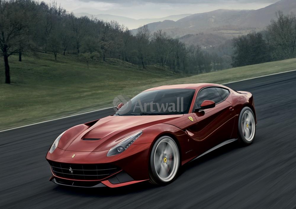 Постер Ferrari F12 Berlinetta, 28x20 см, на бумагеF12 Berlinetta<br>Постер на холсте или бумаге. Любого нужного вам размера. В раме или без. Подвес в комплекте. Трехслойная надежная упаковка. Доставим в любую точку России. Вам осталось только повесить картину на стену!<br>