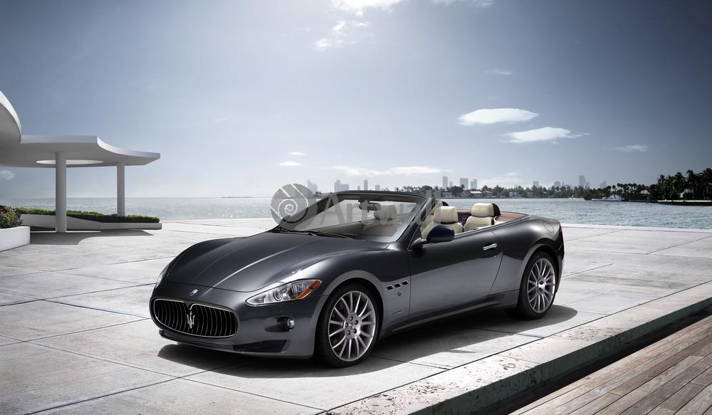 Постер Maserati GranCabrio, 34x20 см, на бумагеGranCabrio<br>Постер на холсте или бумаге. Любого нужного вам размера. В раме или без. Подвес в комплекте. Трехслойная надежная упаковка. Доставим в любую точку России. Вам осталось только повесить картину на стену!<br>