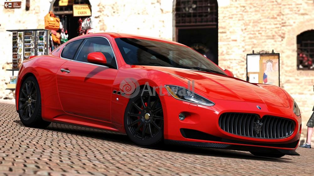 Постер Maserati GranTurismo, 36x20 см, на бумагеGranTurismo<br>Постер на холсте или бумаге. Любого нужного вам размера. В раме или без. Подвес в комплекте. Трехслойная надежная упаковка. Доставим в любую точку России. Вам осталось только повесить картину на стену!<br>