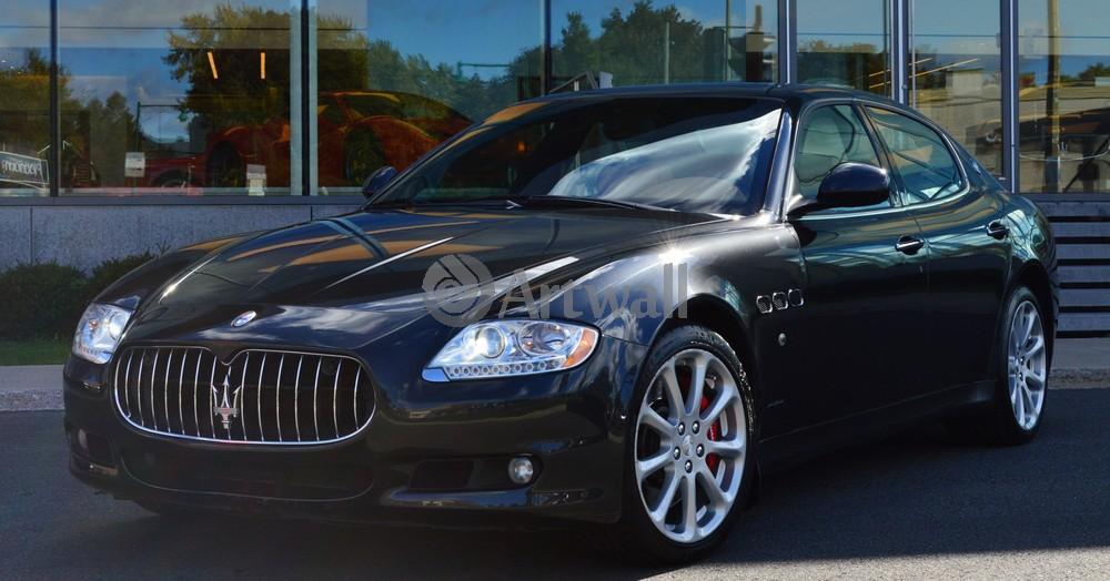 Maserati Quattroporte, 38x20 см, на бумагеQuattroporte<br>Постер на холсте или бумаге. Любого нужного вам размера. В раме или без. Подвес в комплекте. Трехслойная надежная упаковка. Доставим в любую точку России. Вам осталось только повесить картину на стену!<br>