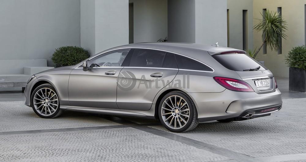 Постер Mercedes-Benz CLS, 38x20 см, на бумагеCLS<br>Постер на холсте или бумаге. Любого нужного вам размера. В раме или без. Подвес в комплекте. Трехслойная надежная упаковка. Доставим в любую точку России. Вам осталось только повесить картину на стену!<br>