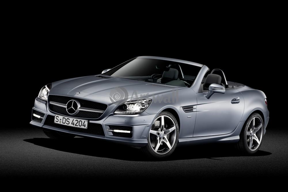 Постер Mercedes-Benz SLK, 30x20 см, на бумагеSLK<br>Постер на холсте или бумаге. Любого нужного вам размера. В раме или без. Подвес в комплекте. Трехслойная надежная упаковка. Доставим в любую точку России. Вам осталось только повесить картину на стену!<br>
