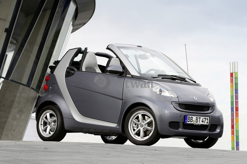 Постер Smart ForTwo Cabrio, 30x20 см, на бумагеForTwo Cabrio<br>Постер на холсте или бумаге. Любого нужного вам размера. В раме или без. Подвес в комплекте. Трехслойная надежная упаковка. Доставим в любую точку России. Вам осталось только повесить картину на стену!<br>