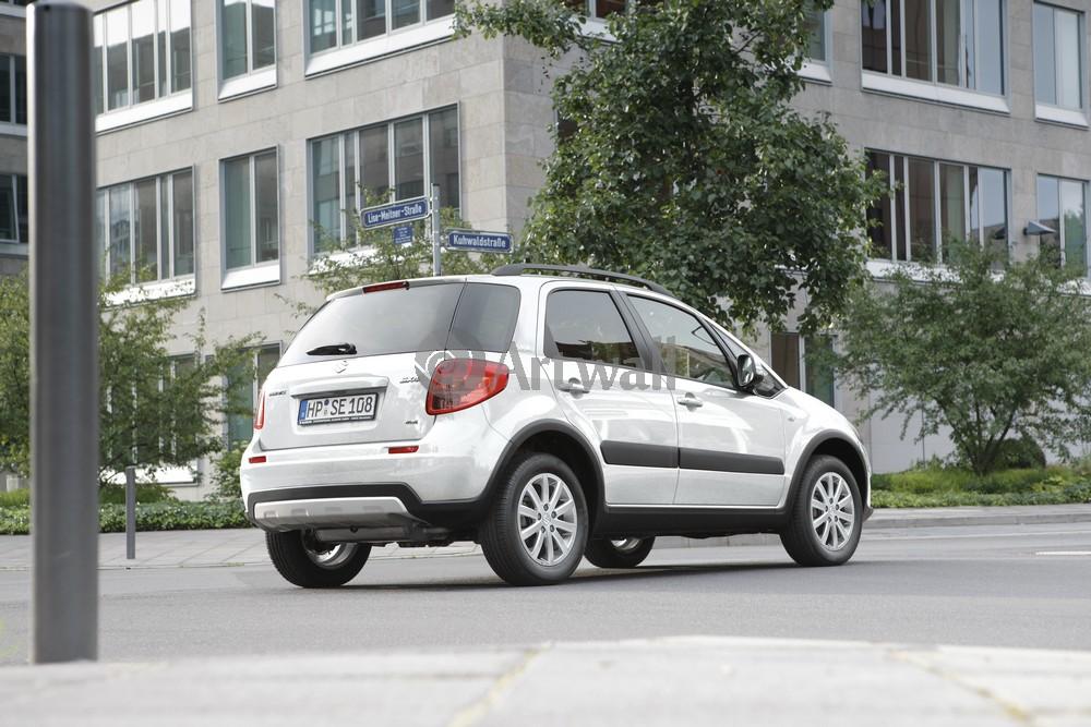 Постер Suzuki SX4 (2006), 30x20 см, на бумагеSX4 (2006)<br>Постер на холсте или бумаге. Любого нужного вам размера. В раме или без. Подвес в комплекте. Трехслойная надежная упаковка. Доставим в любую точку России. Вам осталось только повесить картину на стену!<br>