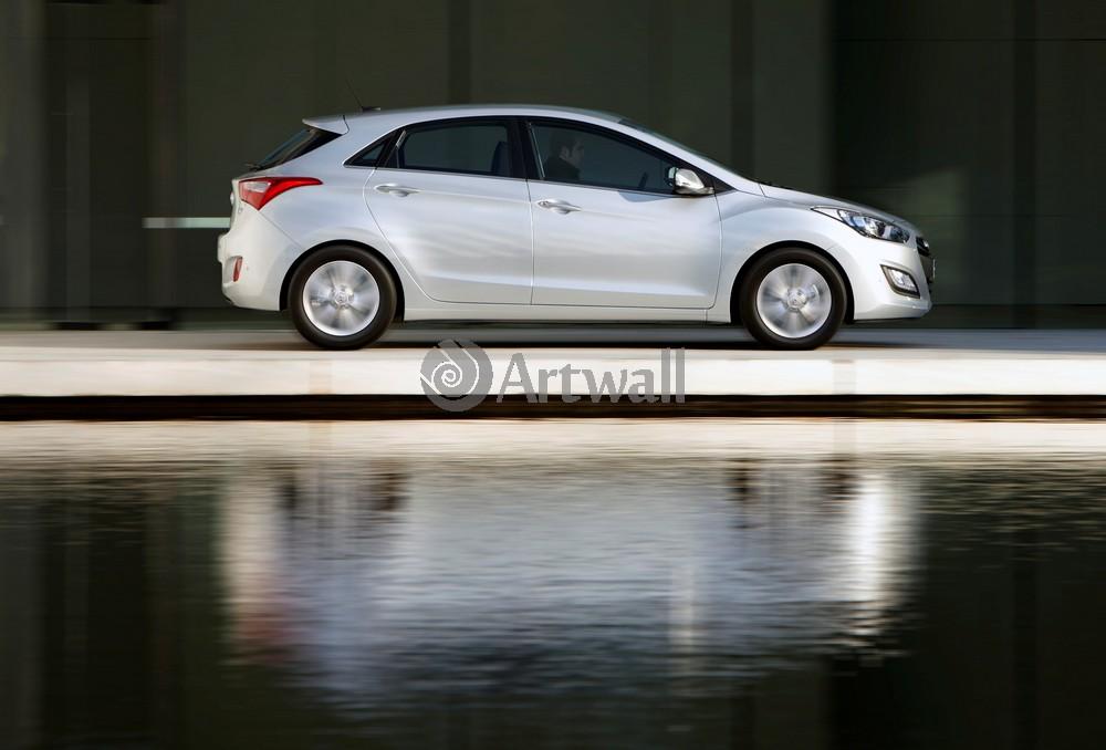 Постер Hyundai i30, 29x20 см, на бумагеi30<br>Постер на холсте или бумаге. Любого нужного вам размера. В раме или без. Подвес в комплекте. Трехслойная надежная упаковка. Доставим в любую точку России. Вам осталось только повесить картину на стену!<br>