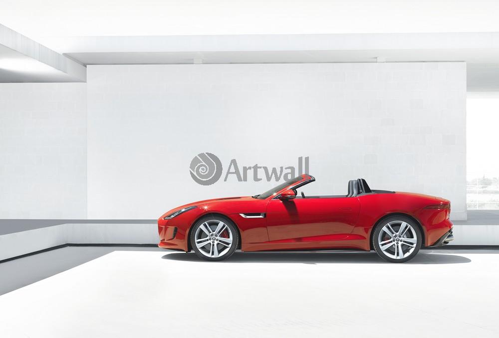 Постер Jaguar F-Type, 29x20 см, на бумагеF-Type<br>Постер на холсте или бумаге. Любого нужного вам размера. В раме или без. Подвес в комплекте. Трехслойная надежная упаковка. Доставим в любую точку России. Вам осталось только повесить картину на стену!<br>