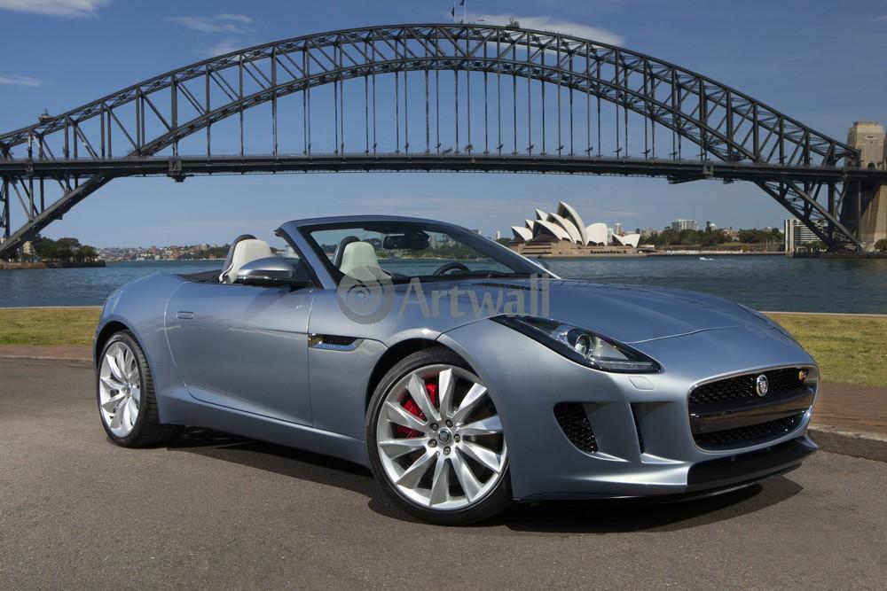 Постер Jaguar F-Type, 30x20 см, на бумагеF-Type<br>Постер на холсте или бумаге. Любого нужного вам размера. В раме или без. Подвес в комплекте. Трехслойная надежная упаковка. Доставим в любую точку России. Вам осталось только повесить картину на стену!<br>