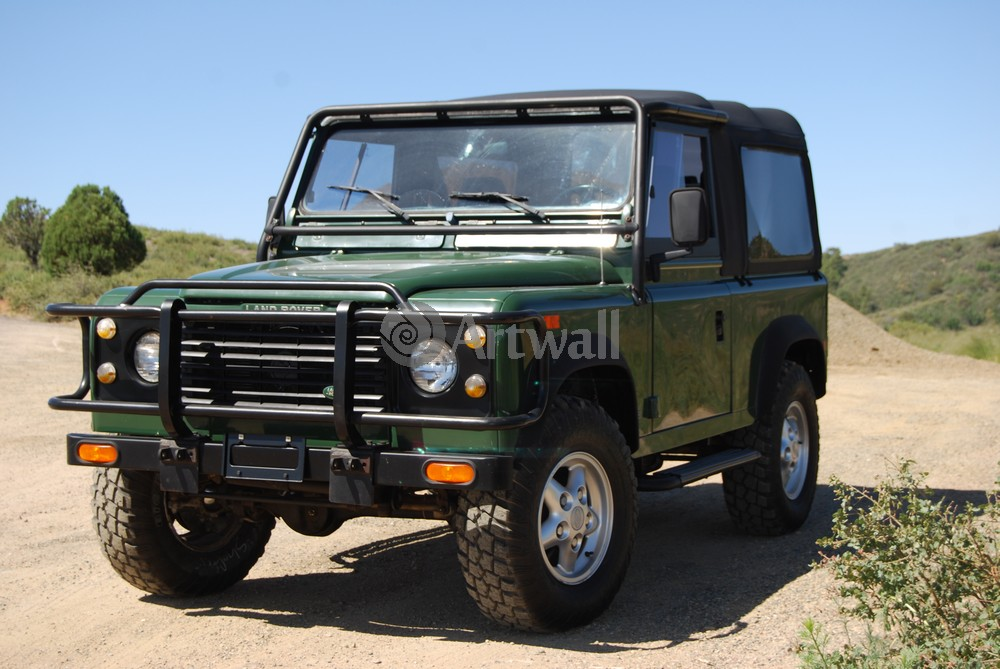 Land Rover Defender 90, 30x20 см, на бумагеDefender 90<br>Постер на холсте или бумаге. Любого нужного вам размера. В раме или без. Подвес в комплекте. Трехслойная надежная упаковка. Доставим в любую точку России. Вам осталось только повесить картину на стену!<br>