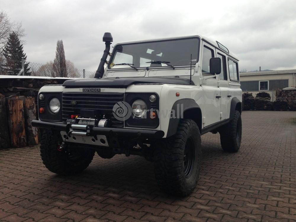 Постер Land Rover Defender 110, 27x20 см, на бумагеDefender 110<br>Постер на холсте или бумаге. Любого нужного вам размера. В раме или без. Подвес в комплекте. Трехслойная надежная упаковка. Доставим в любую точку России. Вам осталось только повесить картину на стену!<br>