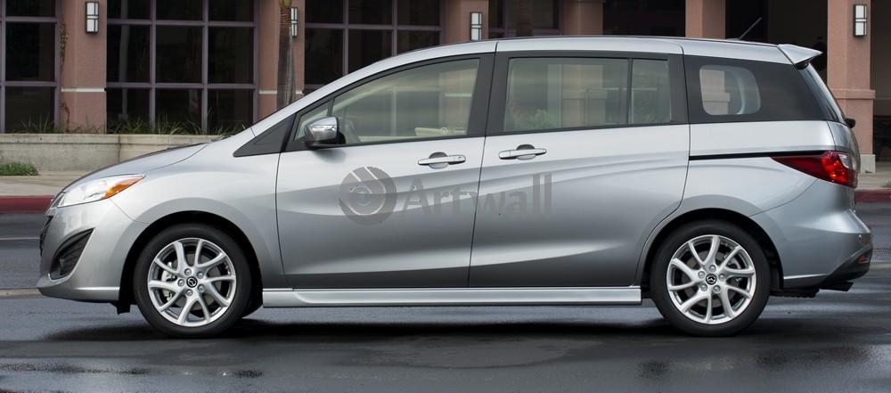 Постер Mazda 5, 45x20 см, на бумаге5<br>Постер на холсте или бумаге. Любого нужного вам размера. В раме или без. Подвес в комплекте. Трехслойная надежная упаковка. Доставим в любую точку России. Вам осталось только повесить картину на стену!<br>