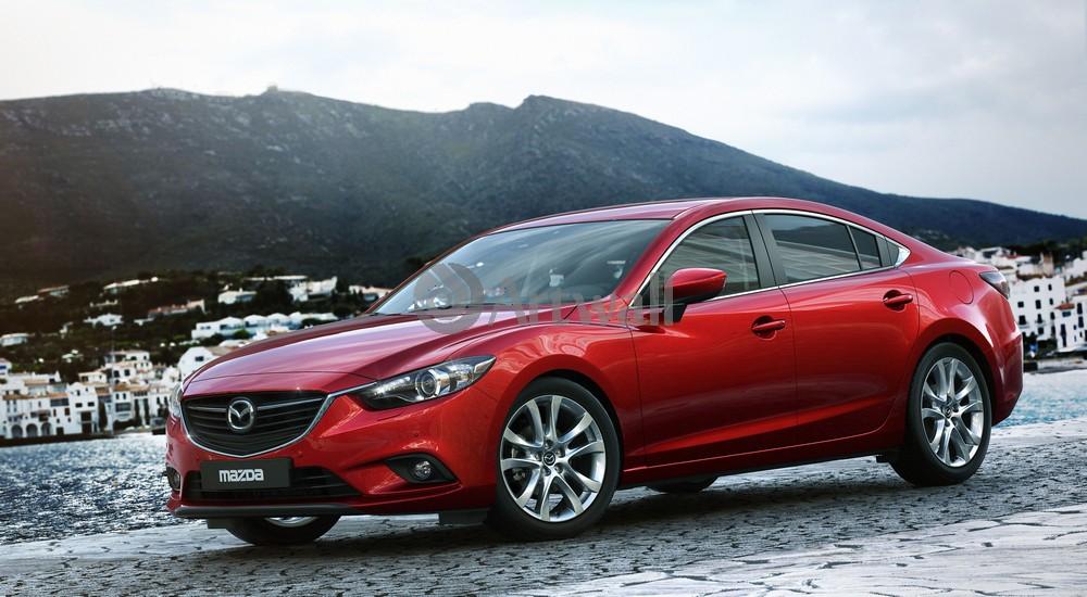 Mazda 6, 36x20 см, на бумаге6<br>Постер на холсте или бумаге. Любого нужного вам размера. В раме или без. Подвес в комплекте. Трехслойная надежная упаковка. Доставим в любую точку России. Вам осталось только повесить картину на стену!<br>