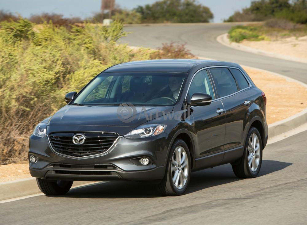 Постер Mazda CX-9, 27x20 см, на бумагеCX-9<br>Постер на холсте или бумаге. Любого нужного вам размера. В раме или без. Подвес в комплекте. Трехслойная надежная упаковка. Доставим в любую точку России. Вам осталось только повесить картину на стену!<br>
