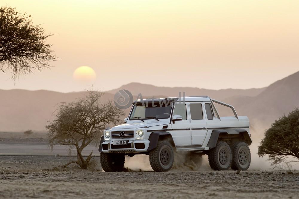 Mercedes-Benz G 63 AMG 6x6, 30x20 см, на бумагеG 63 AMG 6x6<br>Постер на холсте или бумаге. Любого нужного вам размера. В раме или без. Подвес в комплекте. Трехслойная надежная упаковка. Доставим в любую точку России. Вам осталось только повесить картину на стену!<br>
