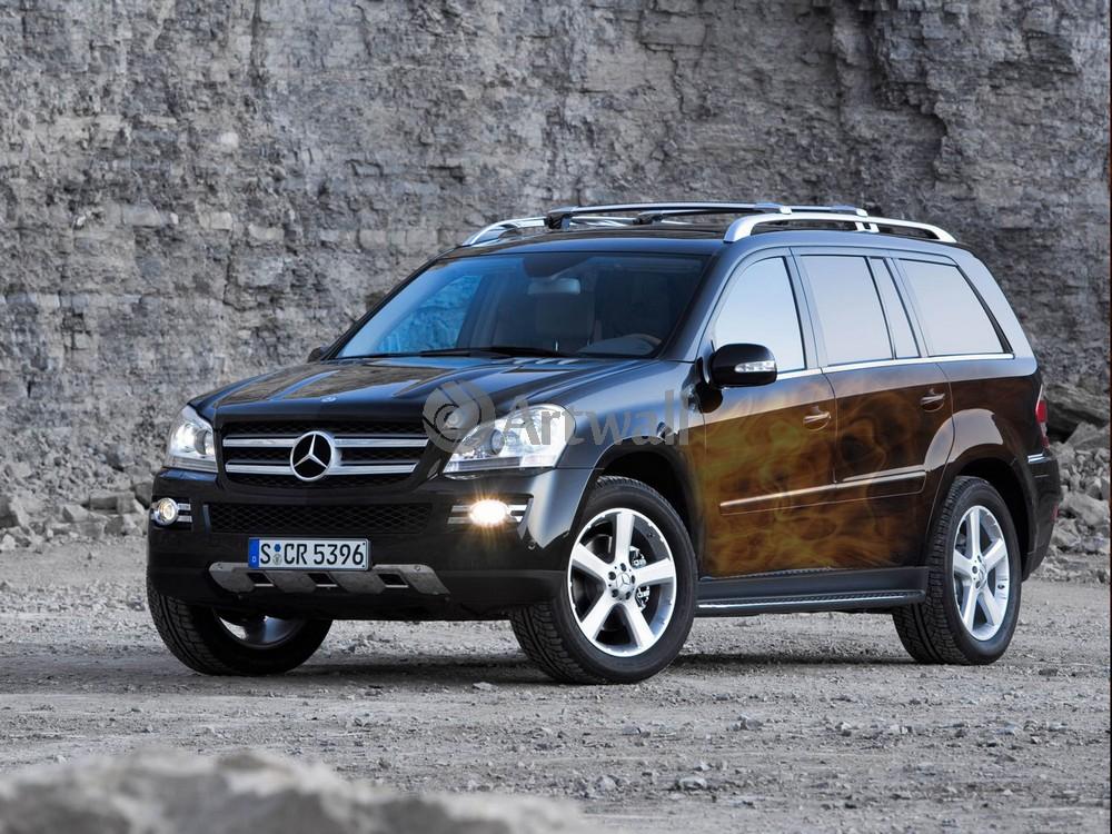Mercedes-Benz GL, 27x20 см, на бумагеGL<br>Постер на холсте или бумаге. Любого нужного вам размера. В раме или без. Подвес в комплекте. Трехслойная надежная упаковка. Доставим в любую точку России. Вам осталось только повесить картину на стену!<br>