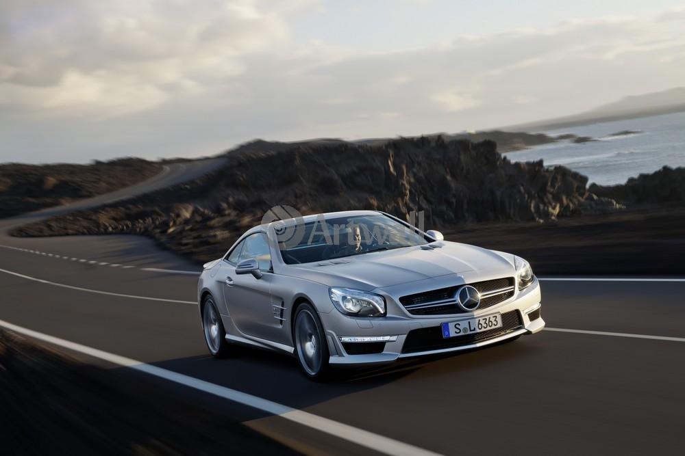 Постер Mercedes-Benz SL 63 AMG, 30x20 см, на бумагеSL 63 AMG<br>Постер на холсте или бумаге. Любого нужного вам размера. В раме или без. Подвес в комплекте. Трехслойная надежная упаковка. Доставим в любую точку России. Вам осталось только повесить картину на стену!<br>