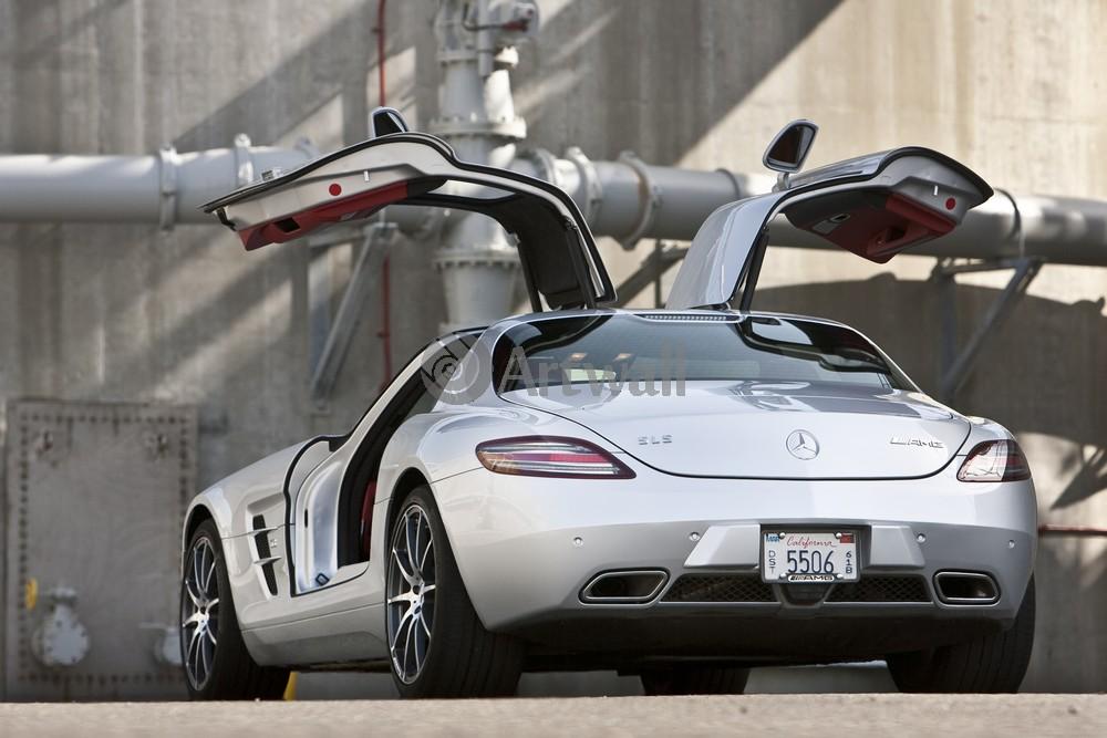 Постер Mercedes-Benz SLS AMG, 30x20 см, на бумагеSLS AMG<br>Постер на холсте или бумаге. Любого нужного вам размера. В раме или без. Подвес в комплекте. Трехслойная надежная упаковка. Доставим в любую точку России. Вам осталось только повесить картину на стену!<br>
